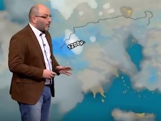 Φωτογραφία για ΈΚΤΑΚΤΟ δελτίο καιρού: Πού θα χιονίσει την Κυριακή και τη Δευτέρα; Τι είπε ο Σάκης Αρναούτογλου