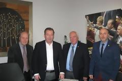 Συνάντηση των Εφ. Αξ/κών  Λάρισας με τον Υφυπουργό Αγροτικής Ανάπτυξης και Τροφίμων Βασίλη Κόκκαλη