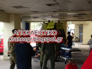 Φωτογραφία για Ο Δκτης 1ης Στρατιάς Δημόκριτος Ζερβάκης μπροστά στη σορό του νεκρού Υποδιοικητή του