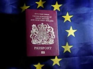 Φωτογραφία για Είδηση - Βομβα - Τέλος η ελεύθερη μετακίνηση πολιτών της ΕΕ προς τη Βρετανία