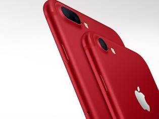 Φωτογραφία για Τα iPhone 7 και iPhone 7 Plus στην ειδική έκδοση RED