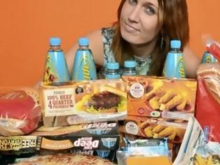 Φωτογραφία για 26χρονη τρώει μόνο junk food εδώ και 16 χρόνια