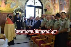 Στον εορτασμό του Αγίου Παντελεήμονα στο 401 ΓΣΝ ο Α/ΓΕΣ Αντγος Αλκιβιάδης Στεφανής