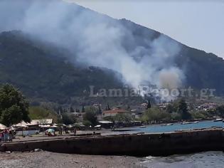 Φωτογραφία για Μεγάλη φωτιά στα Καμένα Βούρλα....
