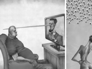 Φωτογραφία για 40 σκίτσα που απεικονίζουν τις πικρές αλήθειες της σύγχρονης κοινωνίας