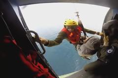 Εντυπωσιακές εικόνες από επιχειρήσεις διάσωσης του Πολεμικού Ναυτικού - ΒΙΝΤΕΟ
