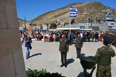 Ο Α/ΓΕΣ στις Εκδηλώσεις για την 74η Επέτειο Απελευθέρωσης του Καστελόριζου (ΦΩΤΟ)