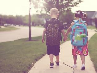 Φωτογραφία για Πολύτιμες συμβουλές για να πάνε και να επιστρέψουν με ασφάλεια τα παιδιά από το σχολείο