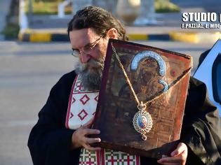 Φωτογραφία για Υποδοχή Εικόνας της Παναγίας της Σινασίτισσας στη Νέα Κίο (φωτογραφίες)