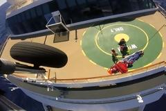 Μεταφορά Ασθενούς με Ελικόπτερο του ΠΝ