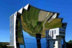 Ο μεγαλύτερος «ηλιακός φούρνος» είναι στο Odeillo στα Ανατολικά Πυρηναία
