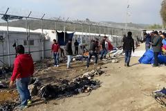Γενική απεργία τη Δευτέρα στη Λέσβο για τη μεταναστευτική κρίση