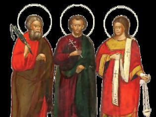 Φωτογραφία για Άγιοι Γουρίας, Σαμωνάς και Άβιβος οι Ομολογητές
