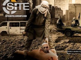 Φωτογραφία για Σοκ: Το ISIS κυκλοφόρησε αφίσα με «αποκεφαλισμένο» τον Πάπα Φραγκίσκο
