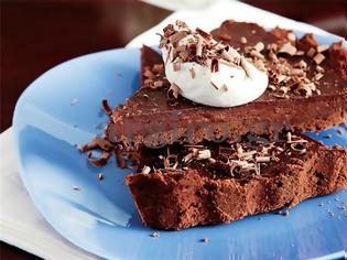 Φωτογραφία για Τάρτα σοκολάτας µε κρέµα σοκολάτας !