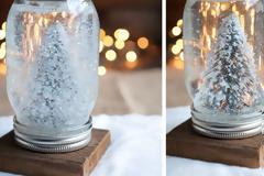 Φτιάξε τη δική σου χιονόμπαλα και φέρε τα Χριστούγεννα στο σπίτι!