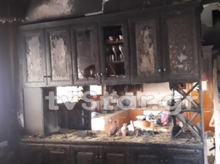 Φωτογραφία για Φθιώτιδα: Σπίτι παραδόθηκε στις φλόγες - Πρόλαβαν και βγήκαν τα παιδιά