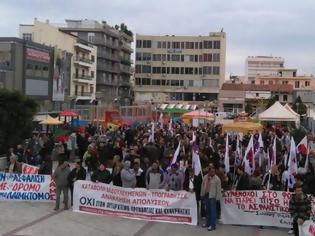 Φωτογραφία για Χαλκίδα: Στην πλατεία αγοράς η απεργιακή συγκέντρωση της Πέμπτης (14/12)