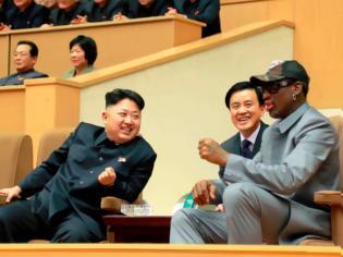 Φωτογραφία για Αγώνα μπάσκετ για τη συμφιλίωση Κιμ Γιονγκ Ουν-Τραμπ προτείνει ο Ρόντμαν
