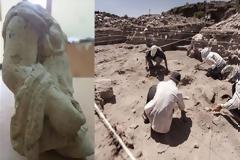 Αίγυπτος: Στο φως ήρθε άγαλμα αφιερωμένο στη θεά Αρτέμιδα