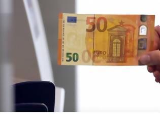 Φωτογραφία για Να πώς φτιάχνεται ένα 50ευρω... [video]