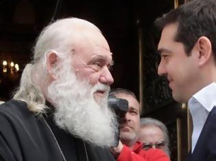 Φωτογραφία για Τι συζήτησαν Τσίπρας - Ιερώνυμος για συλλαλητήρια και Σκοπιανό