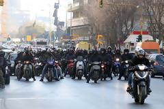 Μηχανοκίνητη πορεία στη Θεσσαλονίκη κατά του συλλαλητηρίου για τη Μακεδονία