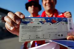 Αυξάνεται η ζήτηση για τα εισιτήρια του Μουντιάλ