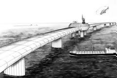 Η Γαλλία απέρριψε βρετανική πρόταση για γιγάντια γέφυρα πάνω από τη Μάγχη