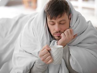 Φωτογραφία για Γιατί οι άντρες κάνουν σαν μωρά όταν αρρωσταίνουν