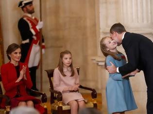 Φωτογραφία για Ο βασιλιάς Φελίπε της Ισπανίας εξήγησε στην κόρη του πως θα γίνει βασίλισσα  #Radio #grxpress #gossip #celebritiesnews