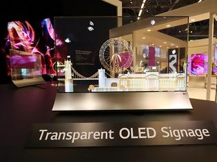 Φωτογραφία για Η LG καινοτομεί με την διάφανη οθόνη OLED!!!