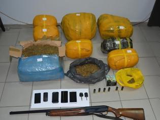Φωτογραφία για 4 συλλήψεις με περισσότερα από 8 κιλά χασίς