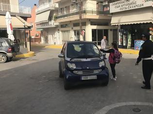Φωτογραφία για Κρήτη: Οι μαθητές… έκοψαν «κλήσεις» και ενημέρωσαν τους οδηγούς