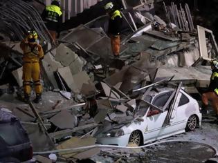 Φωτογραφία για Δεν σταματά να τρέμει η Ταϊβάν! Νέος σεισμός 5,7 Ρίχτερ - Αποκαλύπτονται τα πτώματα κάτω από τα συντρίμμια - 7 νεκροί και 64 αγνοούμενοι [photos+video]