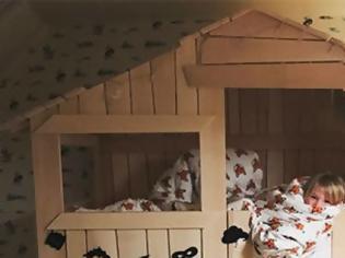 Φωτογραφία για Δείτε το τέλειο κρεβάτι που πήρε ο Jamie Oliver στο γιο του!