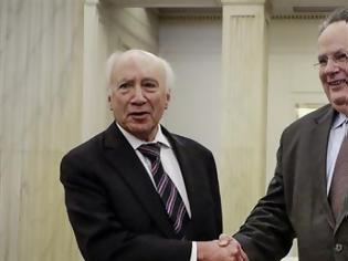 Φωτογραφία για Αιφνιδιαστική συνάντηση Κοτζιά με Νίμιτς και Ντιμιτρόφ στη Βιέννη