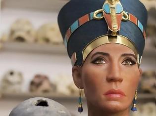 Φωτογραφία για Αποκάλυψη του προσώπου της Βασίλισσας Νεφερτίτη με τεχνολογία 3D imaging