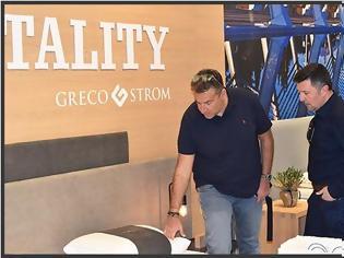Φωτογραφία για HORECA 2018: Kαι ο Λιάγκας στο περίπτερο της Greco Strom! [photo]