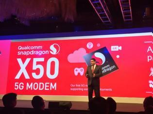 Φωτογραφία για 5G modem της Qualcomm στις συσκευές 18 κατασκευαστών