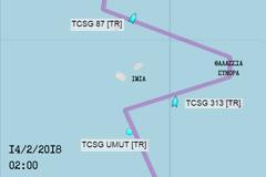 «Έδεσε» στα Ίμια η Τουρκική Ακτοφυλακή μετά το χτύπημα στο ελληνικό σκάφος