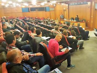 Φωτογραφία για H τακτική συνέλευση της Ένωσης Συνοριακής Φύλαξης Δράμας