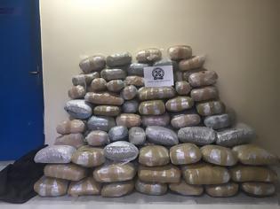 Φωτογραφία για Άγρια καταδίωξη στην Ιόνια Οδό - Μεγάλη ποσότητα ναρκωτικών βρήκαν οι αστυνομικοί (φωτογράφίες)