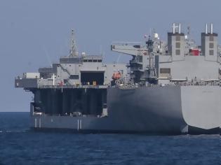 Φωτογραφία για ΗΠΑ: Στη Μεσόγειο θέλουν τη θαλάσσια εκστρατευτική πλατφόρμα USNS Hershel