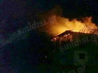 Φωτογραφία για Βίντεο από το φλεγόμενο σπίτι στην Πλαγιά Βόνιτσας!