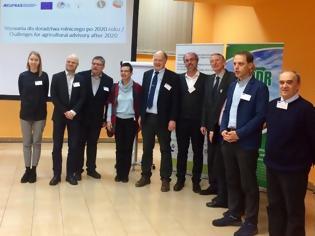 Φωτογραφία για Η «Gaia Επιχειρείν» νέο μέλος του πανευρωπαϊκού δικτύου δημόσιων και ιδιωτικών δομών παροχής γεωργικών συμβουλών (EUFRAS)