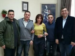 Φωτογραφία για Συνάντηση Στρατιωτικών με την Αντιπερειφερειάρχη Θεσσαλονίκης Βούλα Πατουλίδου