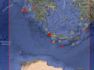Φωτογραφία για Σεισμική δόνηση 3,6 Ρίχτερ στα Χανιά