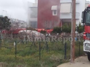 Φωτογραφία για Λαμία: Συναγερμός για φωτιά σε υπόγειο σπιτιού