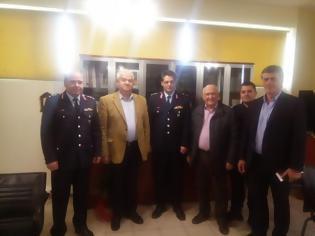 Φωτογραφία για Υπόσχεση για ενίσχυση του Τμήματος  Ασφαλείας της Κάτω Αχαΐας